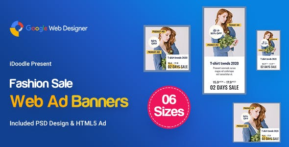 C69 - Fashion Sale Banners GWD & PSD