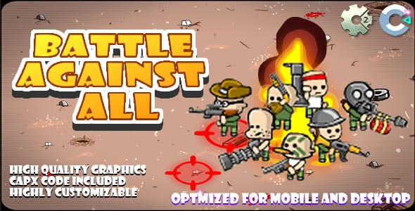 Battle Agains All - (C2,C3,HTML5) Game.