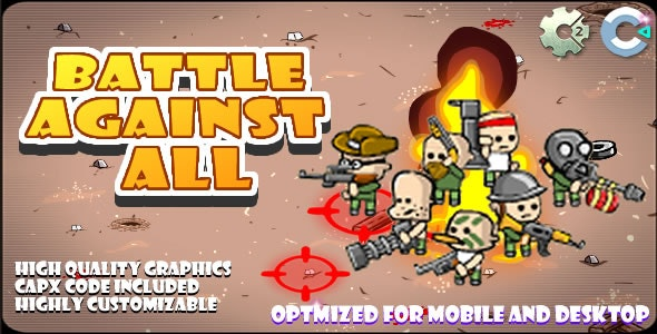 Battle Agains All - (C2,C3,HTML5) Game. - CodeCanyon Item for Sale