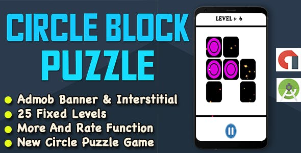 New Circle Box Puzzle Game For Kids + Ready For Sale + Android