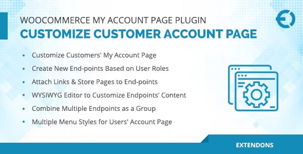 WooCommerce My Account Page Plugin, Customize Customer Account Page - CodeCanyon Item for Sale