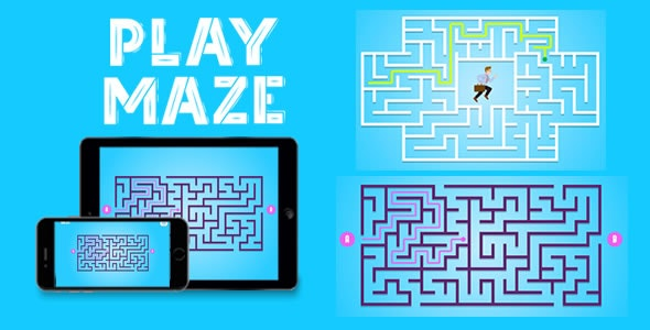 Play Maze - HTML5 Game - CodeCanyon Item for Sale