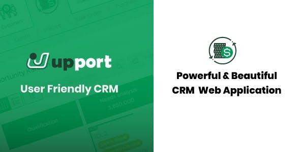 Upport CRM - Laravel Open Source CRM Web Application