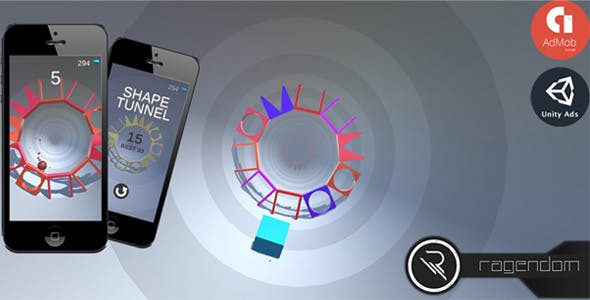 Shape Tunnel - Complete Unity Game + Admob