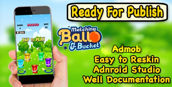 Matching Ball & Bucket - New Concept Of Matching Game - Ready For Publish