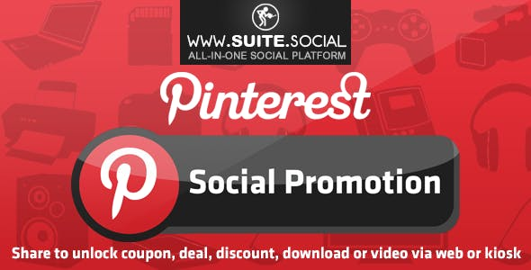 Pinterest Promotion: Sharer, Viral and Marketing Social Script