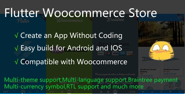 Flutter Woocommerce Store by wolfljj | CodeCanyon
