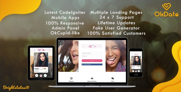 OkDate - Complete Dating Script