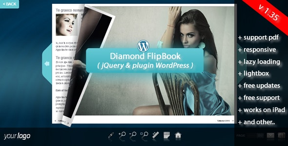 Flipbook WordPress Plugin Diamond - CodeCanyon Item for Sale