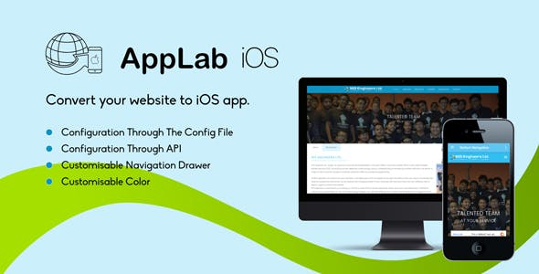Applab - An Web to iOS App Generator