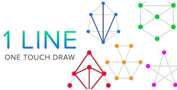 One Line Drawing Puzzle Game (Android + IOS)