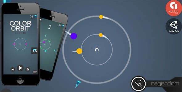Color Orbit - Complete Unity Game + Admob