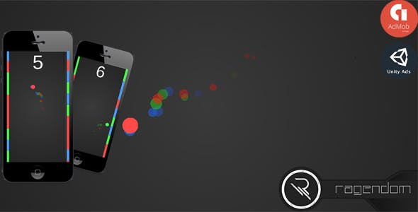 Color Bars - Complete Unity Game + Admob