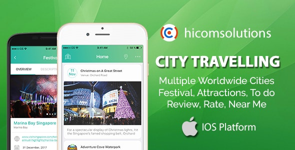 City Travelling Information iOS App - CodeCanyon Item for Sale
