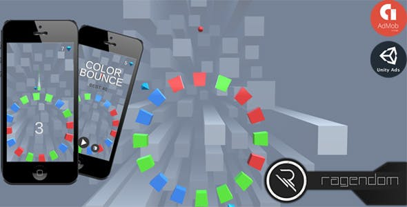 Color Bounce - Complete Unity Game + Admob