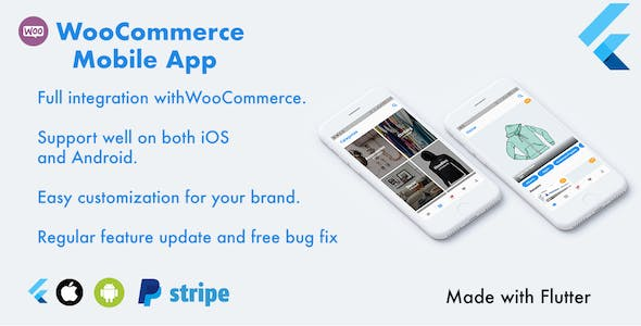 Flutter WooCommerce app