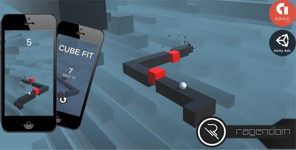 Cube Fit - Complete Unity Game + Admob