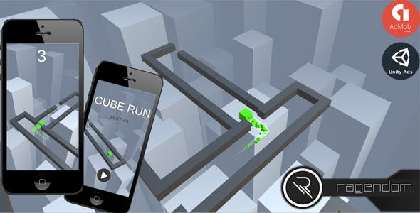 Cube Run - Complete Unity Game + Admob