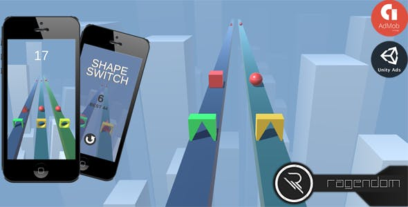 Shape Switch - Complete Unity Game + Admob
