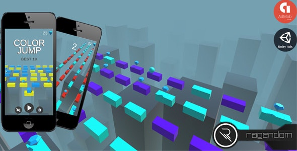 Color Jump - Complete Unity Game + Admob - CodeCanyon Item for Sale