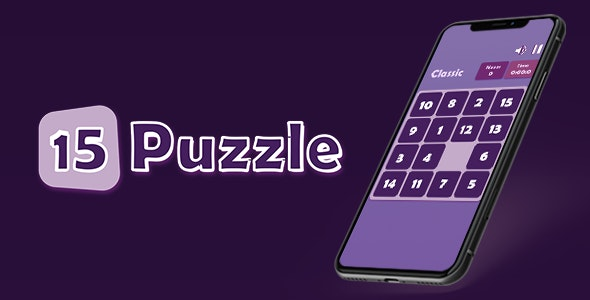 15 Puzzle - iOS - CodeCanyon Item for Sale