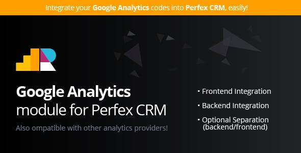Google Analytics module for Perfex CRM