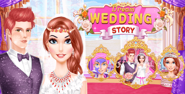 Best Wedding Makeover Games For Kids + Ready For Publish + Android - CodeCanyon Item for Sale
