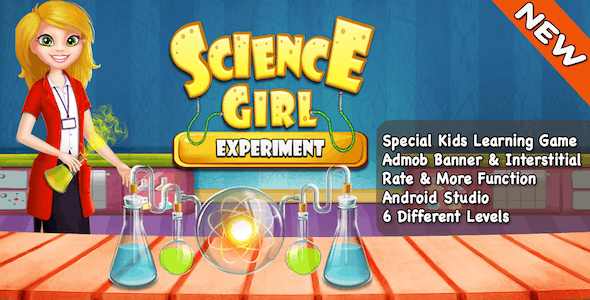 Science Girls Experiment + Best Games For Kids + Android