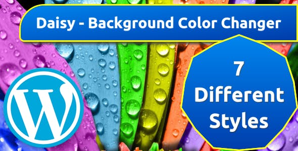 Daisy - Background Color Changer for WordPress