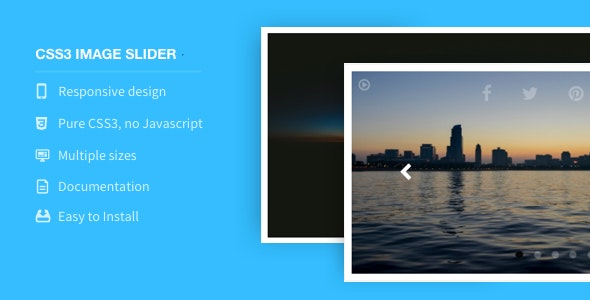 CSS3 Image Slider - CodeCanyon Item for Sale