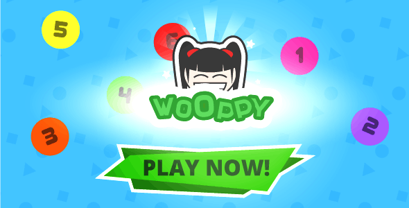 Wooppy - HTML5 game, Construct 2/3/ Mob. control | AdSense