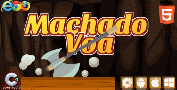 Machado Voa - HTML5 Game (Construct 2) - CodeCanyon Item for Sale