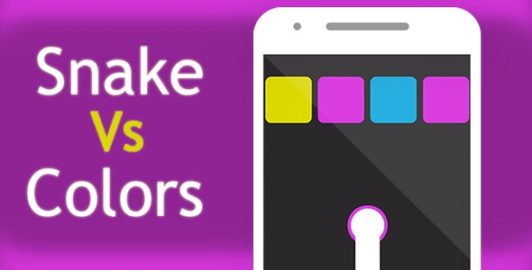 SNAKE VS COLORS WITH ADMOB - ANDROID STUDIO & ECLIPSE FILE - CodeCanyon Item for Sale