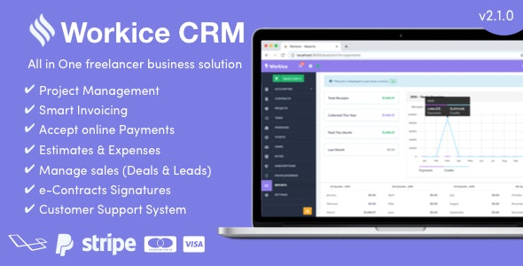 Workice - The Ultimate Freelancer CRM by sinex55 | CodeCanyon