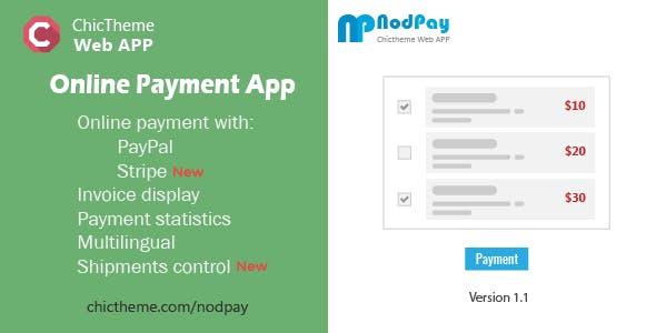 NodPay - Online Payment App