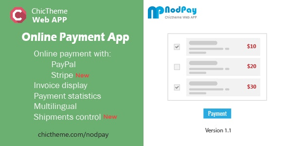 NodPay - Online Payment App - CodeCanyon Item for Sale