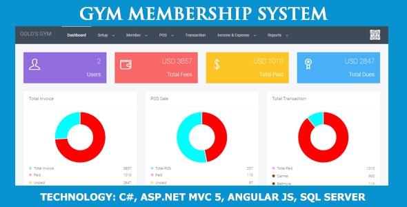 Gym Membership System - CodeCanyon Item for Sale