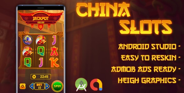 China Slot Machine with AdMob - Android Studio - CodeCanyon Item for Sale