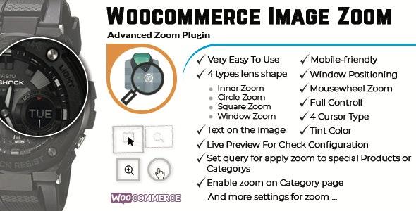 WooCommerce Image Zoom - CodeCanyon Item for Sale