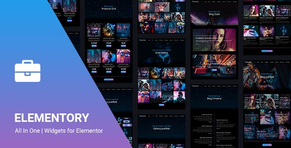 Elementory - All In One | Widgets for Elementor
