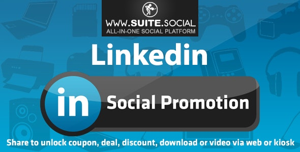 Linkedin Promotion: Sharer, Viral and Marketing Social Script - CodeCanyon Item for Sale