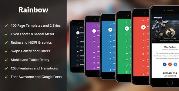 Rainbow Mobile | PhoneGap & Cordova Mobile App - CodeCanyon Item for Sale