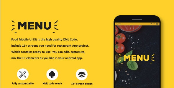 Restaurant Table Booking - Android App UI KIT with source code - CodeCanyon Item for Sale