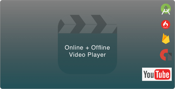 Online + Offline Android Video Player