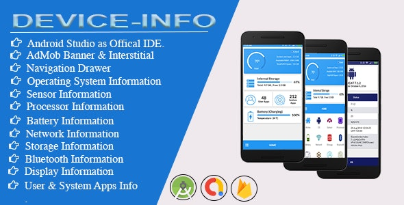 Device Info for android with Admob - CodeCanyon Item for Sale