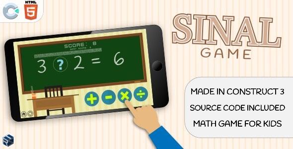 SinalGame - HTML5 Math game - CodeCanyon Item for Sale