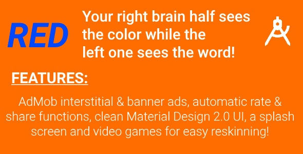 Freakin' Colors - Game with AdMob & Video Guides for Reskinning - CodeCanyon Item for Sale