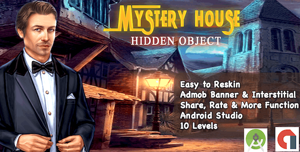 Mystery House + Hidden Object + Ready For Publish + Android