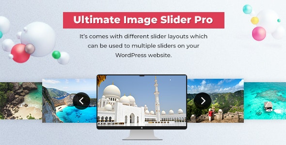 Slider - Ultimate Image Slider Pro For WordPress - CodeCanyon Item for Sale
