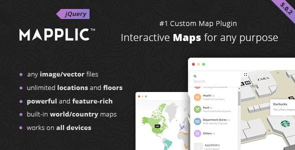 Mapplic - Custom Interactive Map jQuery Plugin by sekler